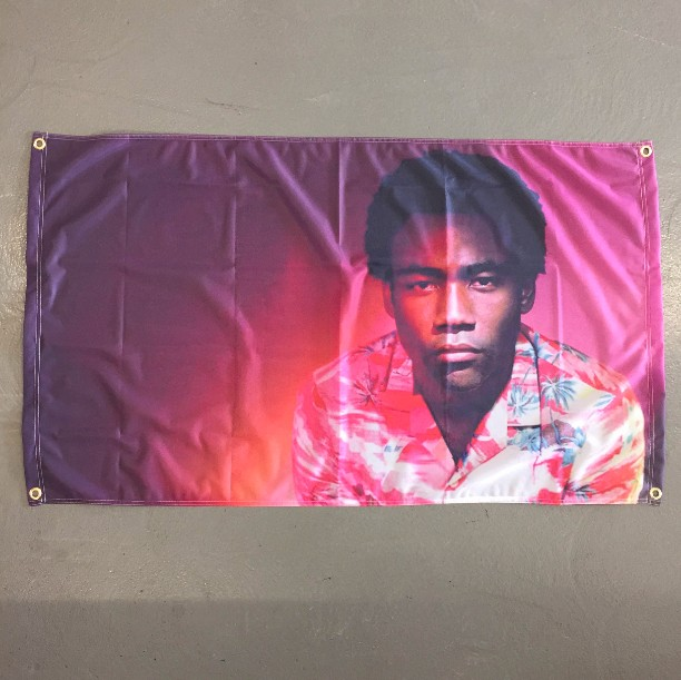 CHILDISH GAMBINO WALL HANGING 1200 X 700MM