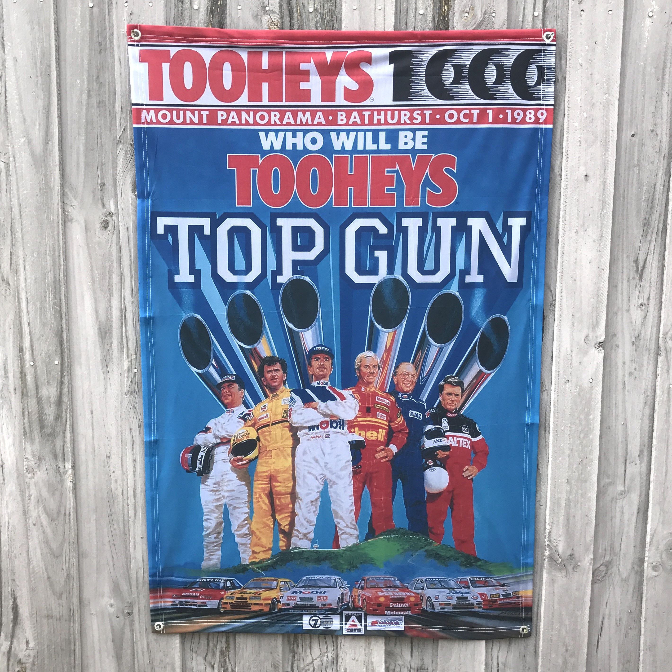 TOP GUN WALL HANGING 810 X 1200MM
