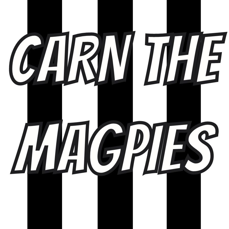 MAGPIES HANDHELD BANNER
