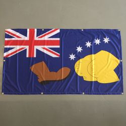 AUSTRALIAN FLAG WALL HANGING